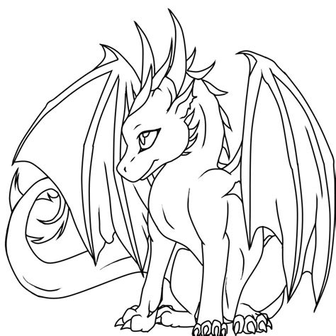 Printable Dragon Coloring Pages Coloring Me Printable Color Page
