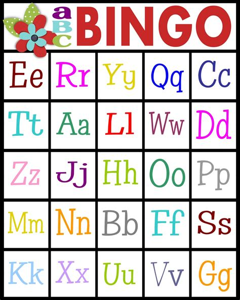 printable card bingo sassy sanctuary abc s bingo free printable