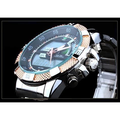 Jam Tangan Pria Cowok Ripcurl R08 3 amst jam tangan digital analog pria am3005 silver gold jakartanotebook