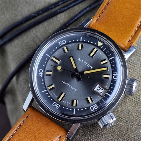 watchuseek dive vintage baylor dive watchuseek the most