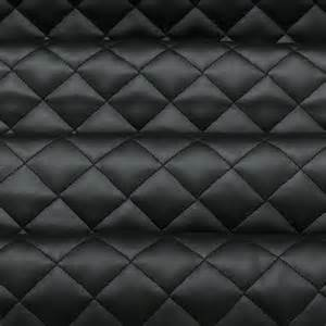 Quilted Upholstery Fabric Quilted Leather Padded Cushion Faux Leather