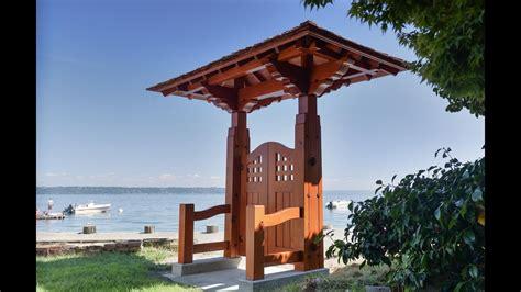 woodworking japanese garden gate timber framing youtube