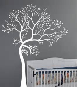 White Tree Wall Sticker limelight interiors interior decorating home staging amp redesign