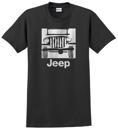 Jeeps The Logo Black T Shirt Size S all things jeep traditional quot c jeep logo quot s t shirt black