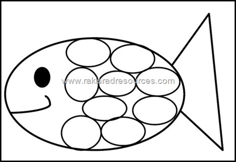 classroom freebies rainbow fish template from raki s rad