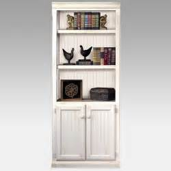 Shelf Cabinet With Doors White Bookshelf With Cabinet Door On The Bottom Decofurnish
