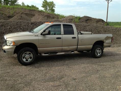 how it works cars 2004 dodge ram 2500 electronic valve timing buy used 2004 dodge ram 2500 in granite falls minnesota united states for us 10 500 00