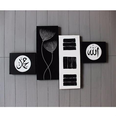 keren  lukisan dinding minimalis hitam putih