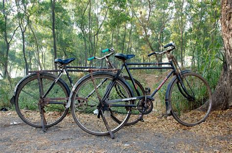 Modified Indian Bicycle by Bombayjules Ubiquitous India No 3 The Hercules Bicycle