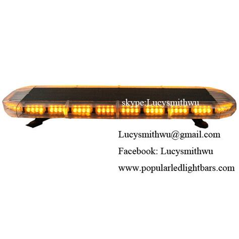 Led Warning Light Emergency Lightbar Led Barra 12 24v 1w Led Light Bars Emergency
