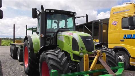 volvo decals claas tractor youtube