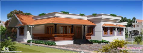 1600 sq single floor house kerala home design and