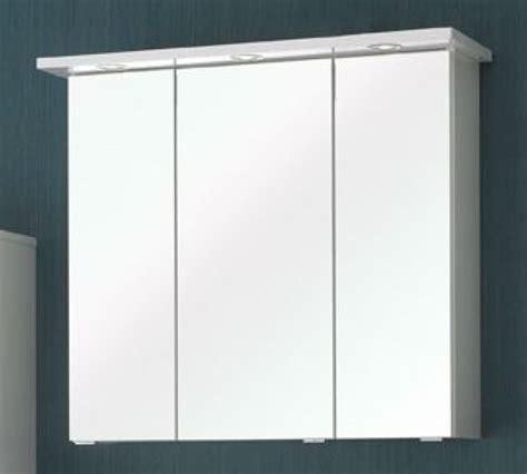 armoire de toilette avec miroir sb meubles discount
