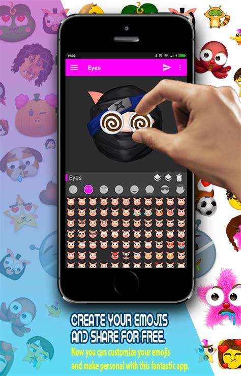 Aufkleber Erstellen Kostenlos by Emoji Maker Erstellen Sie Smileys Aufkleber Android