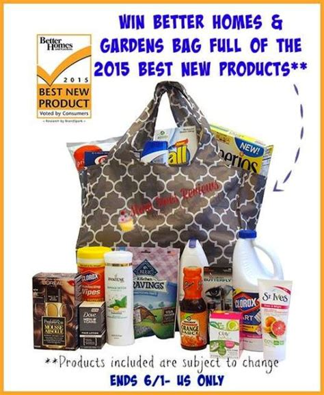better homes and gardens prize package giveaway 125 value - Better Homes And Gardens Giveaways