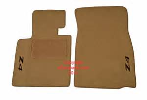 Bmw Z4 Floor Mats For Sale Auto Sale On Floor Mat Set Beige With Embroidered Z4 Logo