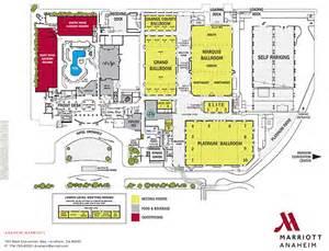 Anaheim Convention Center Floor Plan by Anaheim Marriott Eplannertoolkit