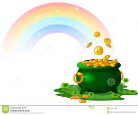 Pot Of Gold Royalty Free Stock Photo   Image: 29454405