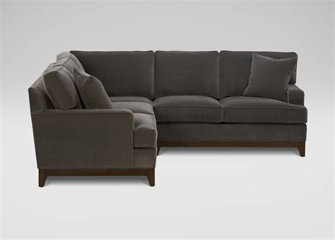 ethan allen sofa with chaise unique ethan allen sectional sofas 68 in most comfortable
