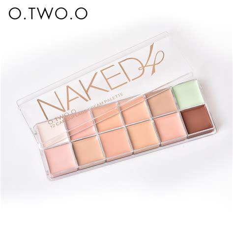 Eyeshadow Palette 12 Color 4 O Two O Original O Two O Paleta De Corretivo Profissional 12 Colors