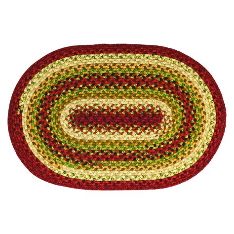 10 x 20 throw rug santa fe cotton braided area throw rugs oval and