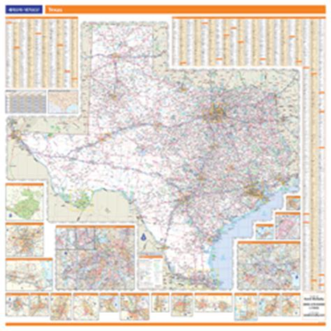rand mcnally map of texas texas wall map by rand mcnally