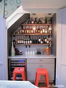 closet bar building a wine bar in an nyc closet