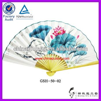 large decorative paper fans customized large decorative chinese paper fans buy