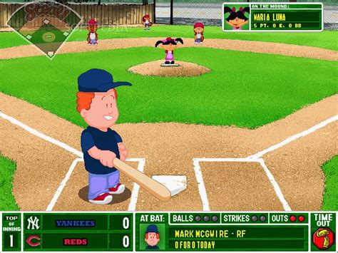 Backyard Baseball Play Backyard Baseball Demo