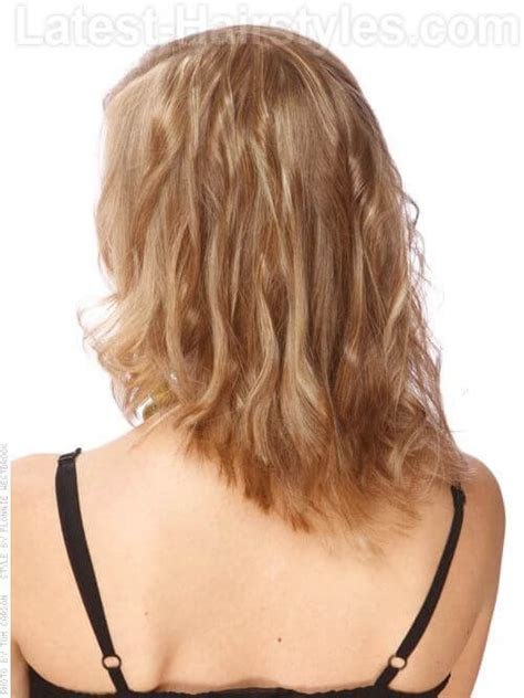 long straight layered haircuts back view hairs picture