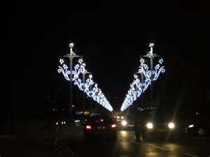 christmas lights on royal tweed bridge 169 graham robson