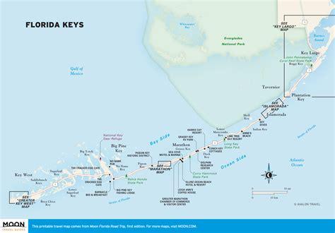 printable map key florida keys map printable bnhspine com