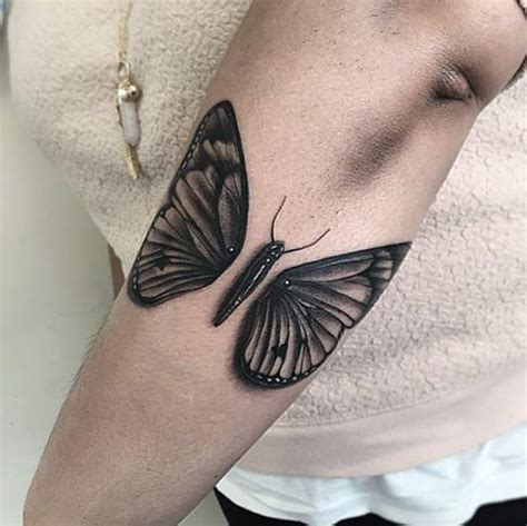 black and grey butterfly tattoo 28 beautiful black and grey butterfly tattoos tattooblend