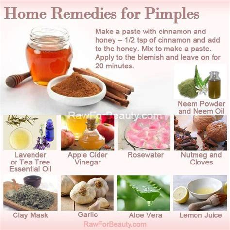 home remedies for pimples kitchen