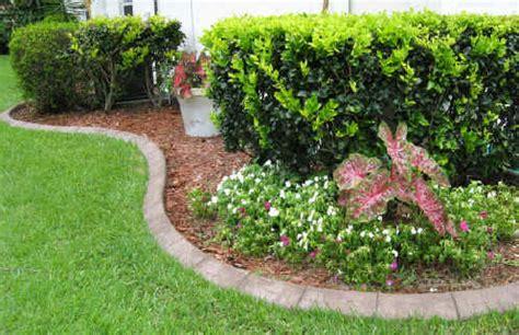 Decorative Landscape Borders by Concrete Curbing Concrete Landscape Curbing Concrete