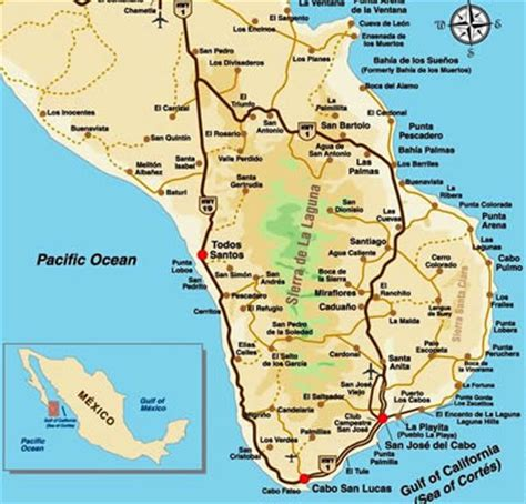 map of united states and cabo san lucas mexico about cabo cabo san lucas information what you should