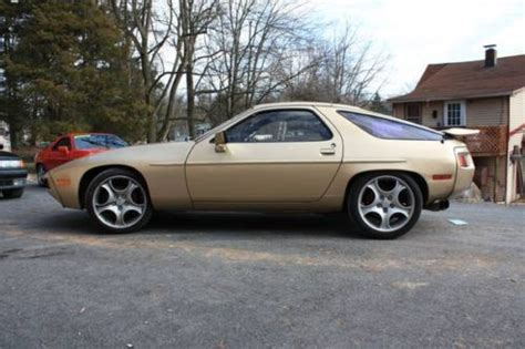 gold porsche truck purchase used 1982 porsche 928 gold in palmyra
