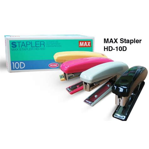 Staples Max Hd 10 Staples max stapler hd 10d