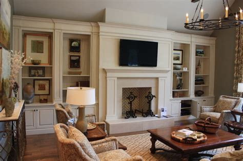 Built Ins For Living Room by Built Ins Traditional Living Room Nashville By