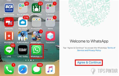 membaca pesan whatsapp  diketahui pengirim  iphone