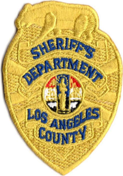 County Sheriffs Office by Los Angeles Sheriff S Department Badge Patches 20