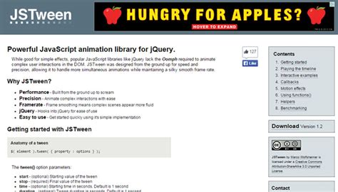 javascript animation tutorial web design 25 free libraries for custom web animation