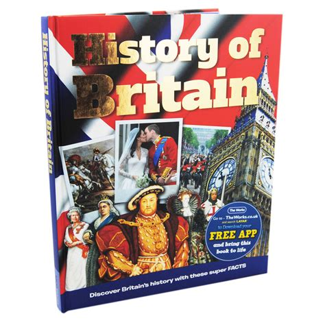 britain by the book british history factopedia interactive book children s history books at the works