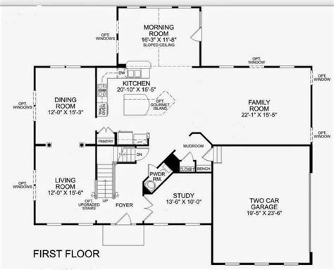 ryan homes townhouse floor plans homes home plans ideas new ryan home floor plans new home plans design