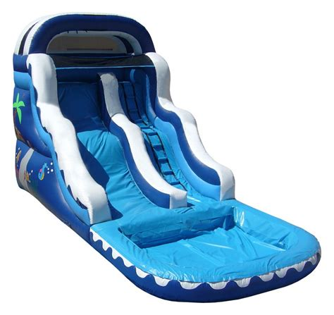 water bounce house inflatable water slides