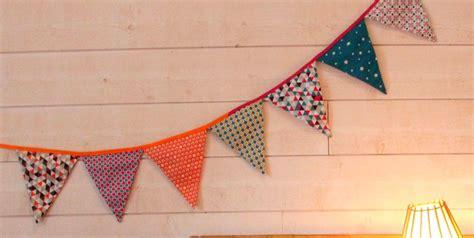 Decorative Textiles by Tuto La Guirlande De Fanions En Tissus Je Fais Moi M 234 Me