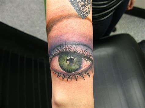 eye tattoo forearm makeup eye forearm tattoo tattooimages biz