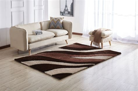 1 pile area rugs amazing rugs brown soft pile shaggy area rug 5 x 7