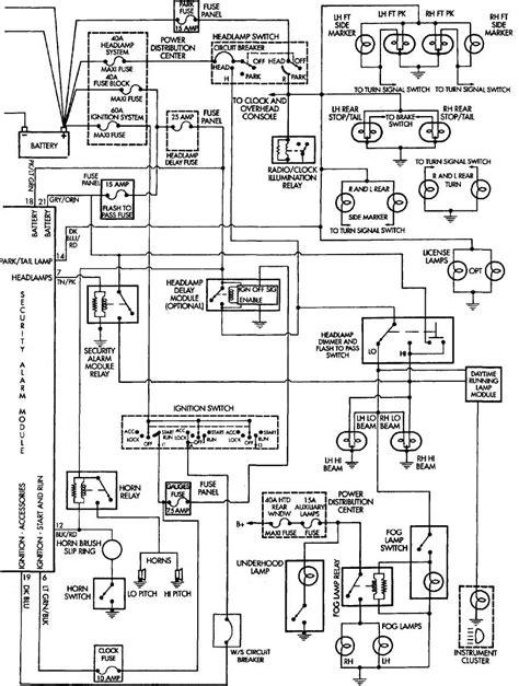 anti theft module wiring diagram 98 grand mercury