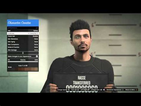 gta 5 online character creation ps4